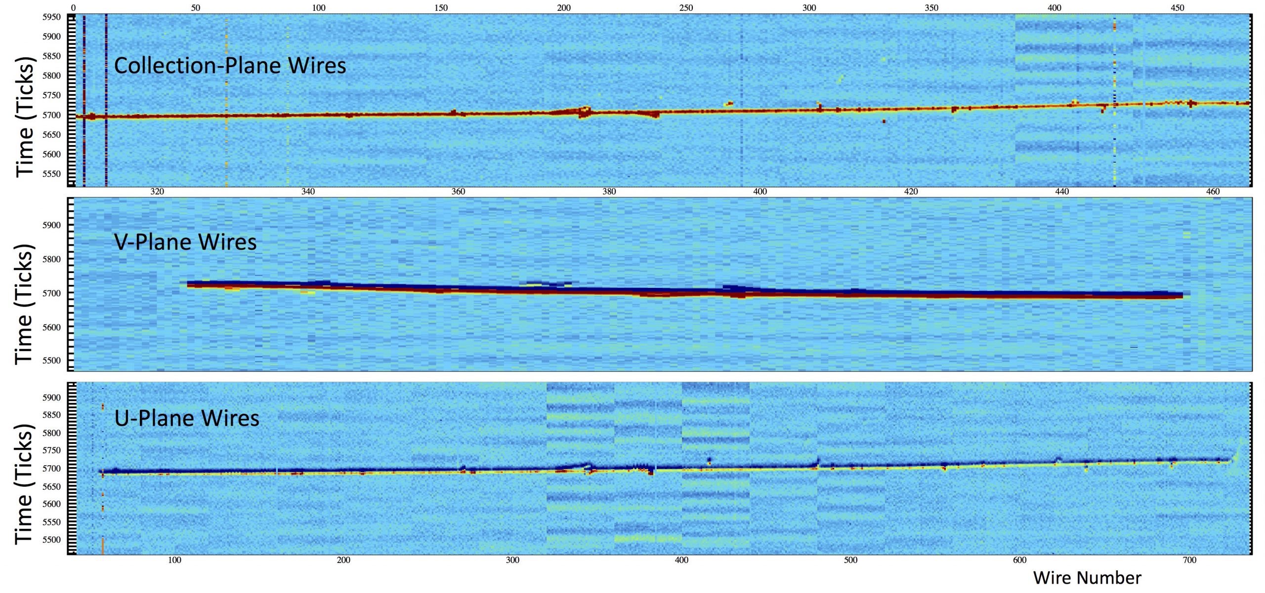 First cosmic muon particle tracks recorded by the ProtoDUNE detector at CERN